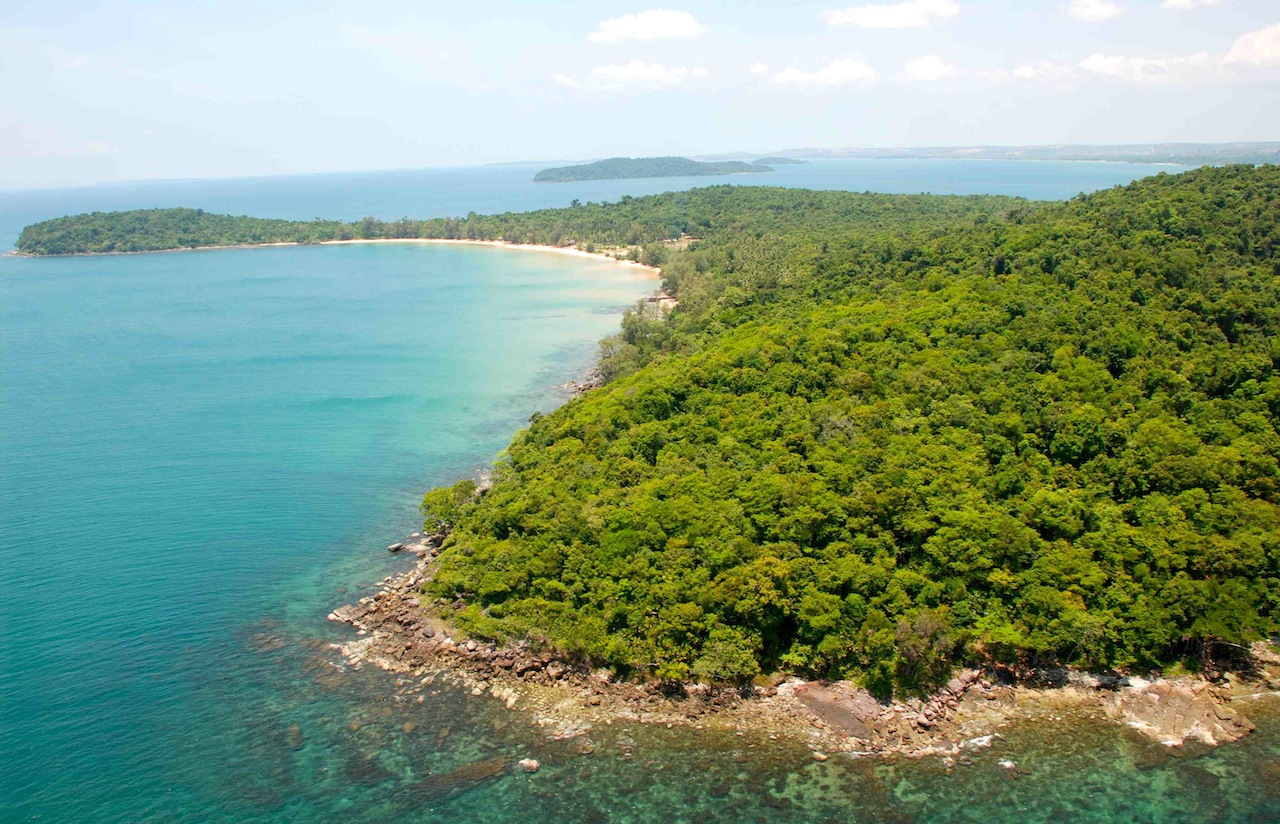 Koh Thmei beach, Ream National Park